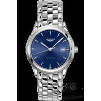 Longines - Flagship 38.5mm Blue & Steel bracelet L49744926