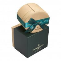 Frederique Constant - Classics Art Deco Oval Diamond Index Rose gold & Steel FC-200RMPW2V2B