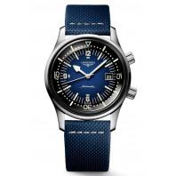 Longines - Legend Diver herrklocka med 42 mm boett av rostfritt stål & blå urtavla, L3.774.4.90.2