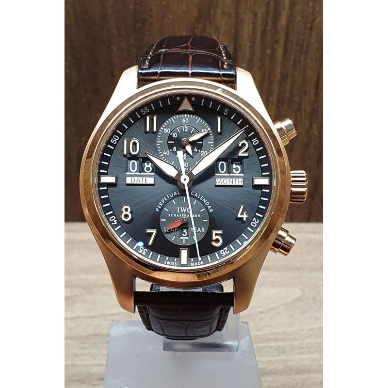 PRE-OWNED IWC Spitfire Perpetual Calender 18k Rose Gold  Ref. IW379103