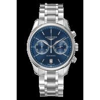 Longines Master Collection Sanray Blue 40mm & Steel Bracelet  Ref. L2.629.4.92.6