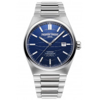 Frederique Constant - Highlife Automatic COSC 41mm Blue & Steel Bracelet