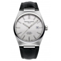 Frederique Constant - Highlife Automatic COSC 41mm White & Leather strap FC-303S4NH6
