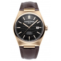Frederique Constant - Highlife Automatic COSC 41mm Rose Gold & Leather strap