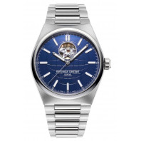 Frederique Constant - Highlife Heart Beat 41mm Blue & Steel Bracelet