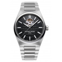 Frederique Constant - Highlife Heart Beat 41mm Black & Steel Bracelet