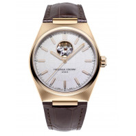 Frederique Constant - Highlife Automatic Heart Beat 41mm Rose Gold & Leather strap