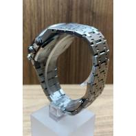 PRE-OWNED Audemars Piguet Royal Oak Chronograph 38mm White Dial & Blue Subdials   Ref: 26315ST.OO.1256ST.01