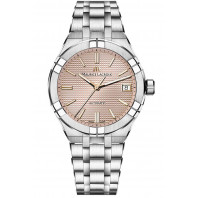 Maurice Lacroix - Aikon Automatic 39mm Pink & Steel Bracelet AI6007-SS002-731-1