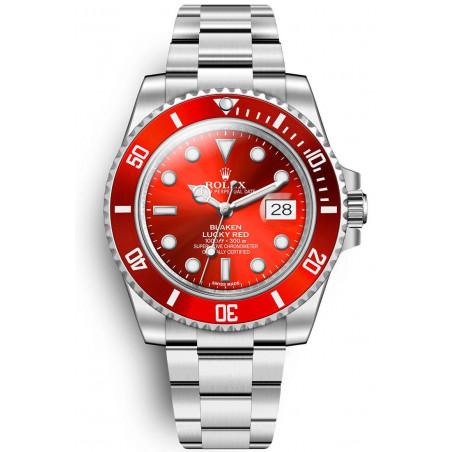 Blaken - Submariner Date Lucky Red Limited Edition