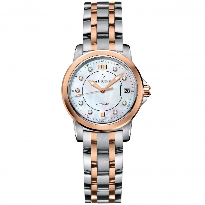 Carl F. Bucherer - Patravi Autodate Lady Diamonds Twotone