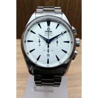 PRE-OWNED Omega Seamaster Aqua Terra Silver Dial & Steel Bracelet 2512.30.00