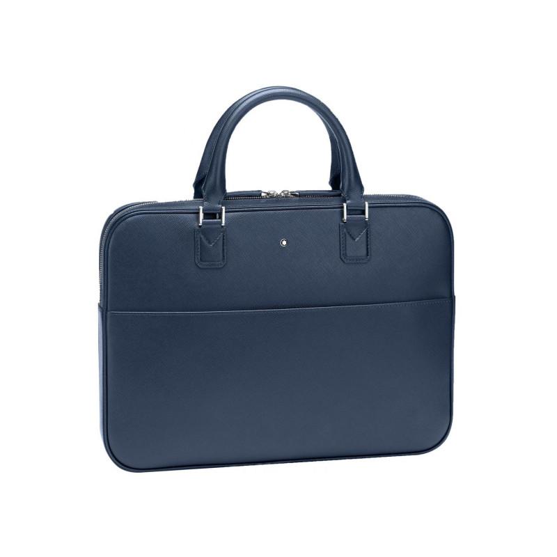 Montblanc - Sartorial Ultra Slim Document Case Indigo Leather MB118690