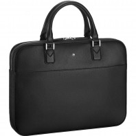 Montblanc - Sartorial Ultra Slim Document Case Black Leather MB118689