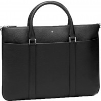 Montblanc - Meisterstück Soft Grain Document Case Flat Black Leather MB118731