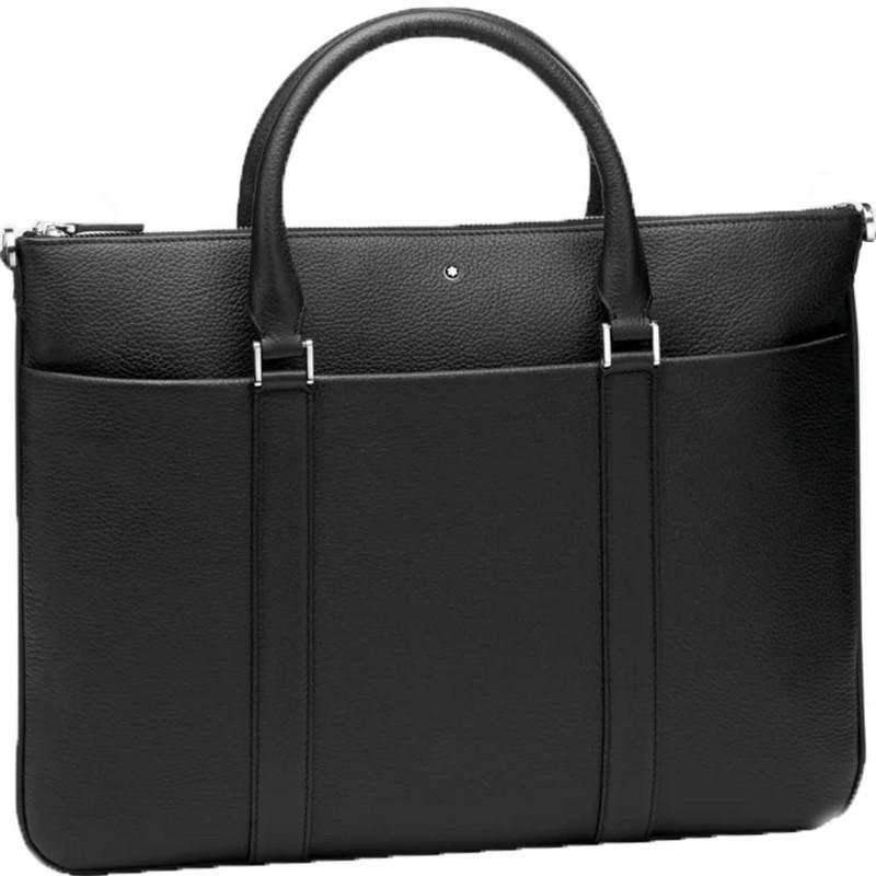 Montblanc - Meisterstück Soft Grain Document Case Flat Black Leather MB118731