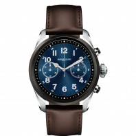 Montblanc - Summit 2 Stainless Steel Black Bi-colour & Leather MB119439