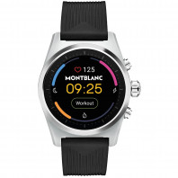 Montblanc - Summit Lite Smartwatch Aluminium Grey & Rubber MB128410