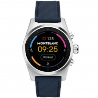 Montblanc - Summit Lite Smartwatch Aluminium Grey & Fabric MB128411