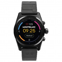 Montblanc - Summit Lite Smartwatch Black & Rubberband MB128408