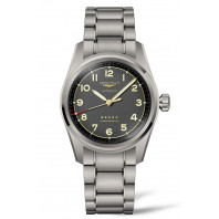 Longines Spirit - 40 mm Anthracite Grey Dial & Titanium Bracelet L3.810.1.53.6