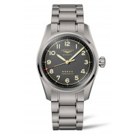 Longines Spirit - 42 mm Anthracite Grey Dial & Titanium Bracelet L3.811.1.53.6