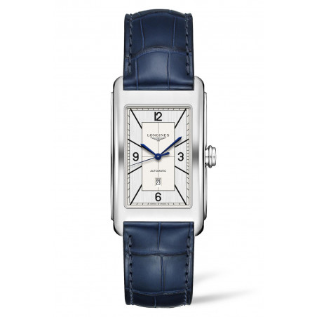 Longines - DolceVita Sector Dial Silver Dial & Blue Leather Strap L5.767.4.73.9