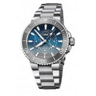 Oris - Dat Watt Limited Edition 43.5 mm Blue Dial & Steel Bracelet 01 761 7765 4185-Set