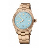Oris - Divers Sixty-Five Cotton Candy 38 mm Blue Dial & Bronze Bracelet 01 733 7771 3155-07 8 19 15