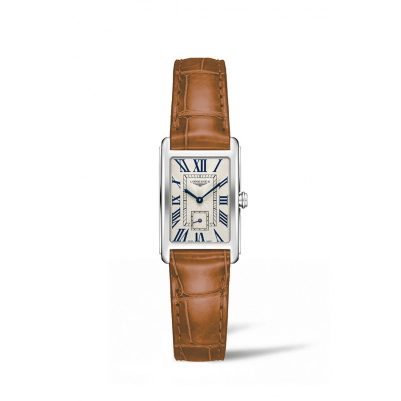 Longines - DolceVita Silver Dial & Brown Leather Strap L5.255.4.71.4