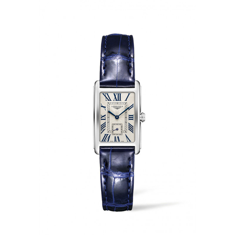 Longines - DolceVita Silver Dial & Blue Leather Strap L5.255.4.71.4