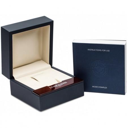 Longines - DolceVita Diamond Silver Dial & White Leather Strap L5.255.0.71.2