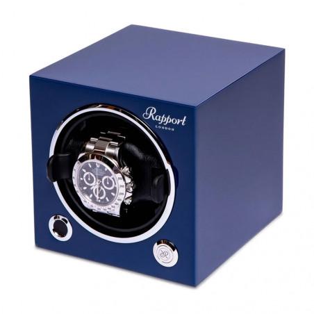 Rapport London - Evo Single Watch Winder Admiral Blue EVO22