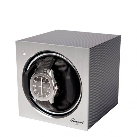 Rapport London - Tetra Mono Watch Winder Carbon Fibre W147