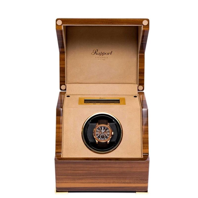 Rapport London - Perpetua III Single Watch Winder Walnut W581
