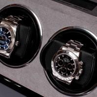 Rapport London - Perpetua III Duo Watch Winder Black W572
