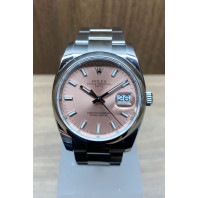 PRE-OWNED Rolex Oyster Perpetual Date Rosa Urtavla 115200