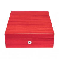 Rapport London - Heritage Four Watch Box Red L420