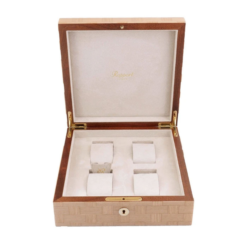 Rapport London - Heritage Four Watch Box Bamboo L405