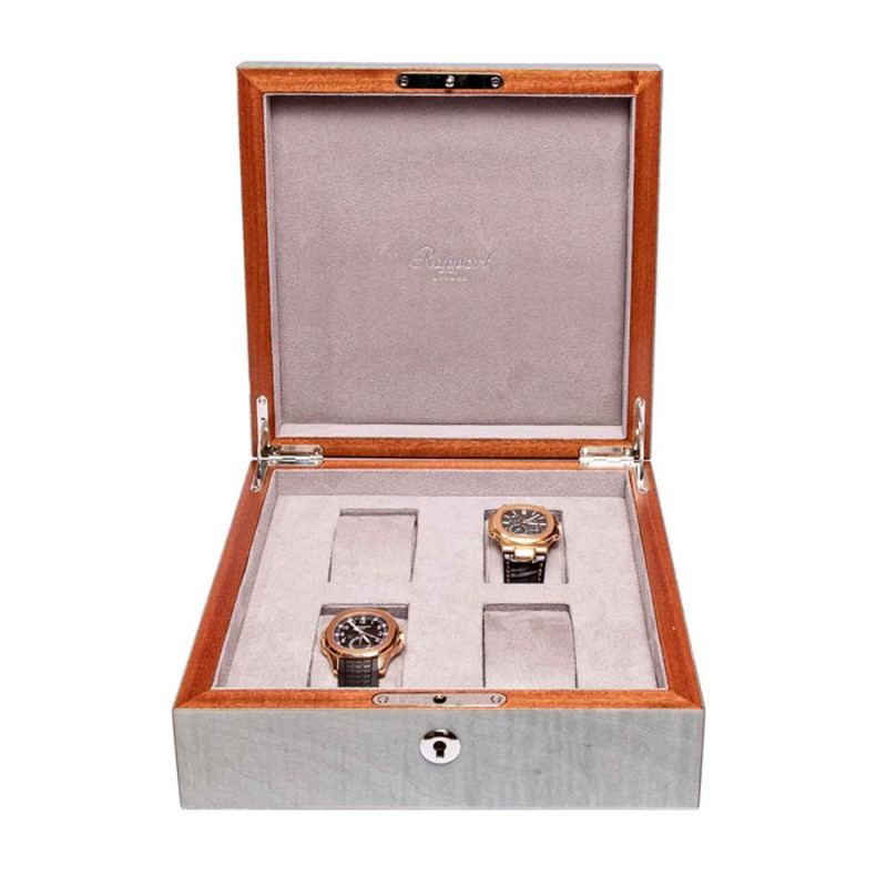 Rapport London - Heritage Four Watch Box Grey L415