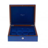 Rapport London - Heritage Klocklåda 8 Klockor Blå L401