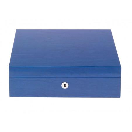 Rapport London - Heritage Eight Watch Box Blue L401