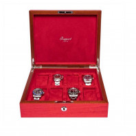 Rapport London - Heritage Eight Watch Box Red L421
