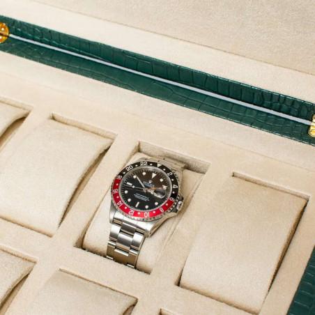 Rapport London - Brompton Eight Watch Box Green L268