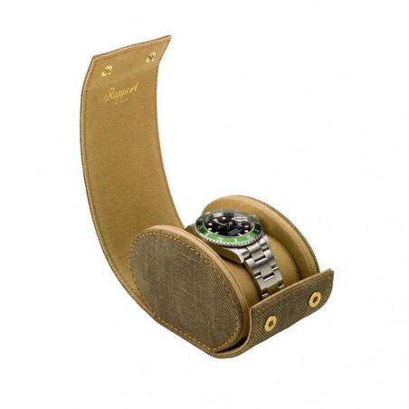 Rapport London - Soho Single Watch Roll Brown D320