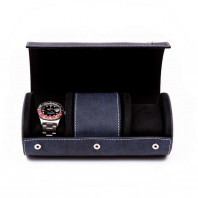 Rapport London - Soho Three Watch Roll Navy D317