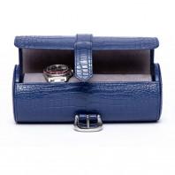 Rapport London - Brompton Three Watch Roll Blue D166