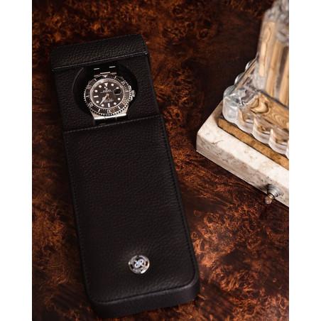 Rapport London - Berkeley Single Watch Slipcase Black D160