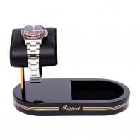 Rapport London - Formula Watch Stand With Tray Black & Gold WS22