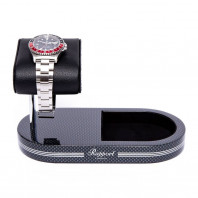 Rapport London - Formula Watch Stand With Tray Carbon Fibre WS21